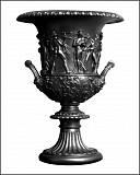 мраморная скульптура грифон и ваза Бельцы