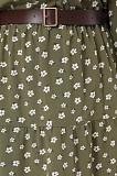 Платье с поясом в мелкий цветочек 38/M/46 Киев