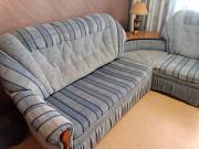 Угловой диван + кресло-кровать.Б/У Обнинск