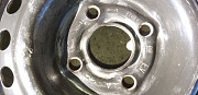 Комплект дисков стальных R-13 на Опель-Аскону-4шт на 4 болта Брест