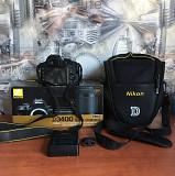 Зеркальный фотоаппарат Nikon D3400 + объектив 18-55 мм Могилёв