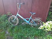 Велосипед дорожный складная рама голубой Новокузнецк