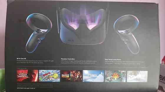 Oculus Quest 64gb + oculus link + аксессуары Москва