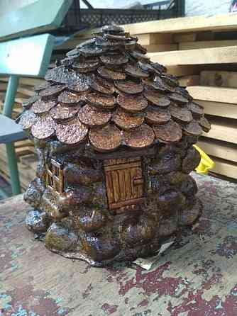 Продам садовую скульптуру - домик для гномика Барановичи