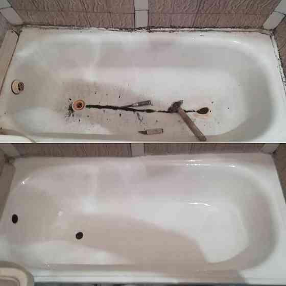 Реставрация ванн жидким акрилом Владимир Владимир