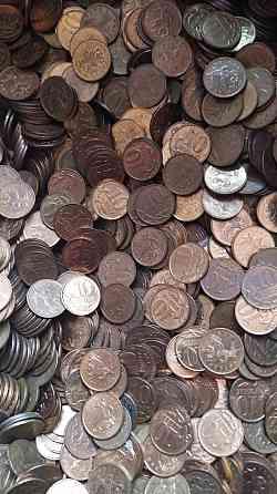 10 копеек более 10000 штук монеты оптом много монет Москва