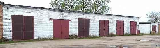 Четыре склада гаража (можно по одному), г. Кобрин АРЕНДА Брест
