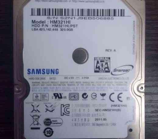 Жесткий диск Samsung Spinpoint M7E 320 Гб (HM321HI) Минск