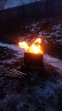Портативная походная печь-щепочница Луганск