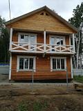 Брусовой коттедж недалеко от остановки общественного транспорта Иркутск