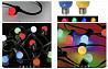 Гирлянда белт-лайт с цветными лампочками