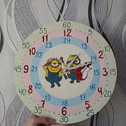 Часы настенные, кварцевые. Ручная работа Минск