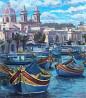 Продаю картину: автор Аксамитов Юрий, Malta