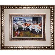 Картина коровы. Е.Яблонская. Новогодний подарок. Символ года 2021 Киев