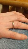 Золотое кольцо с бриллиантиками Брест